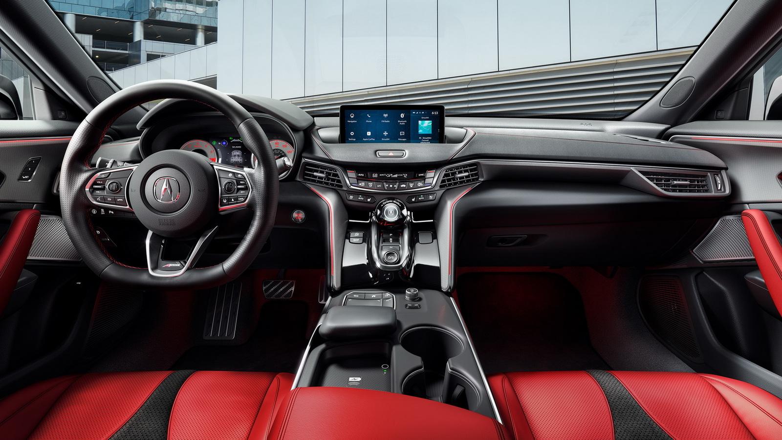 Acura представила самый быстрый седан в своей истории