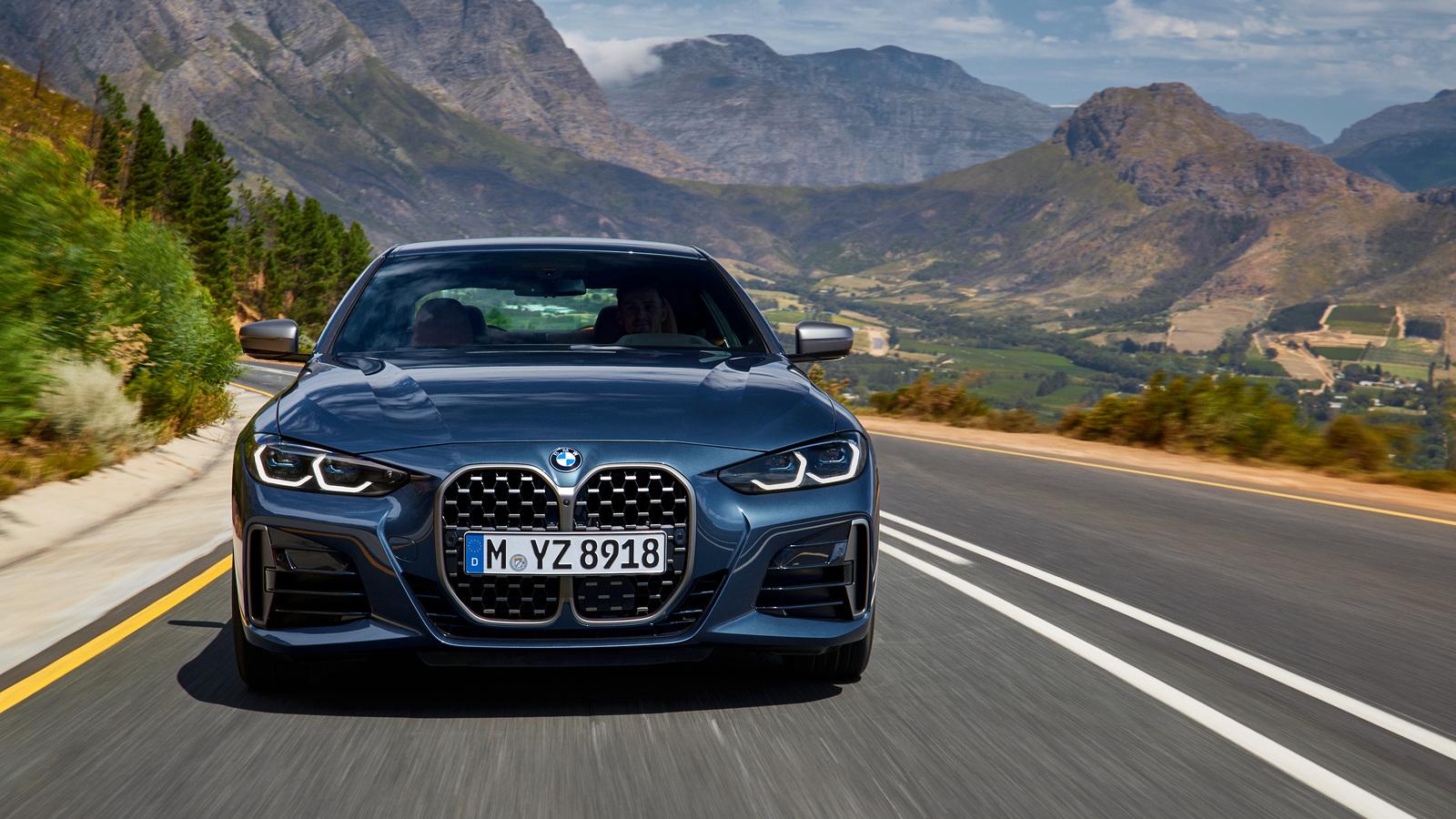 Представлен новый BMW 4 серии Coupe: он очень странный