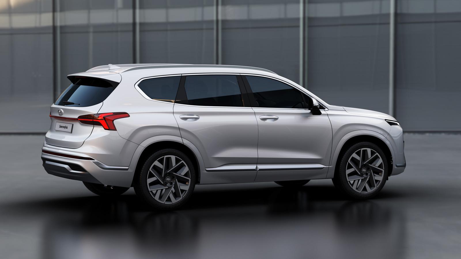 Hyundai представила обновленный кроссовер Santa Fe