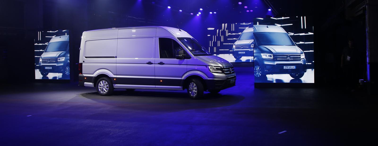 Обзор нового Volkswagen Crafter: грузите ваши коробки, господа!