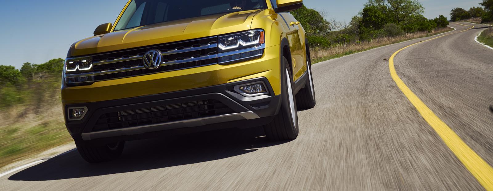 Объявлены российские цены на новейший Volkswagen Teramont