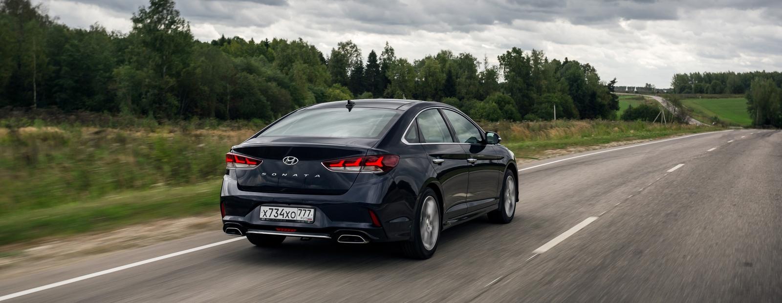 """Тест-драйв Hyundai Sonata: все, что вы хотели знать о """"сестре"""" Kia Optima"""