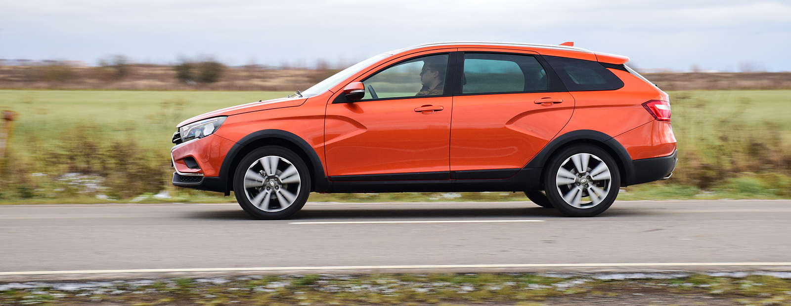 """Тест-драйв Lada Vesta SW Cross: ответы на вопросы про самый внедорожный """"вагон"""""""
