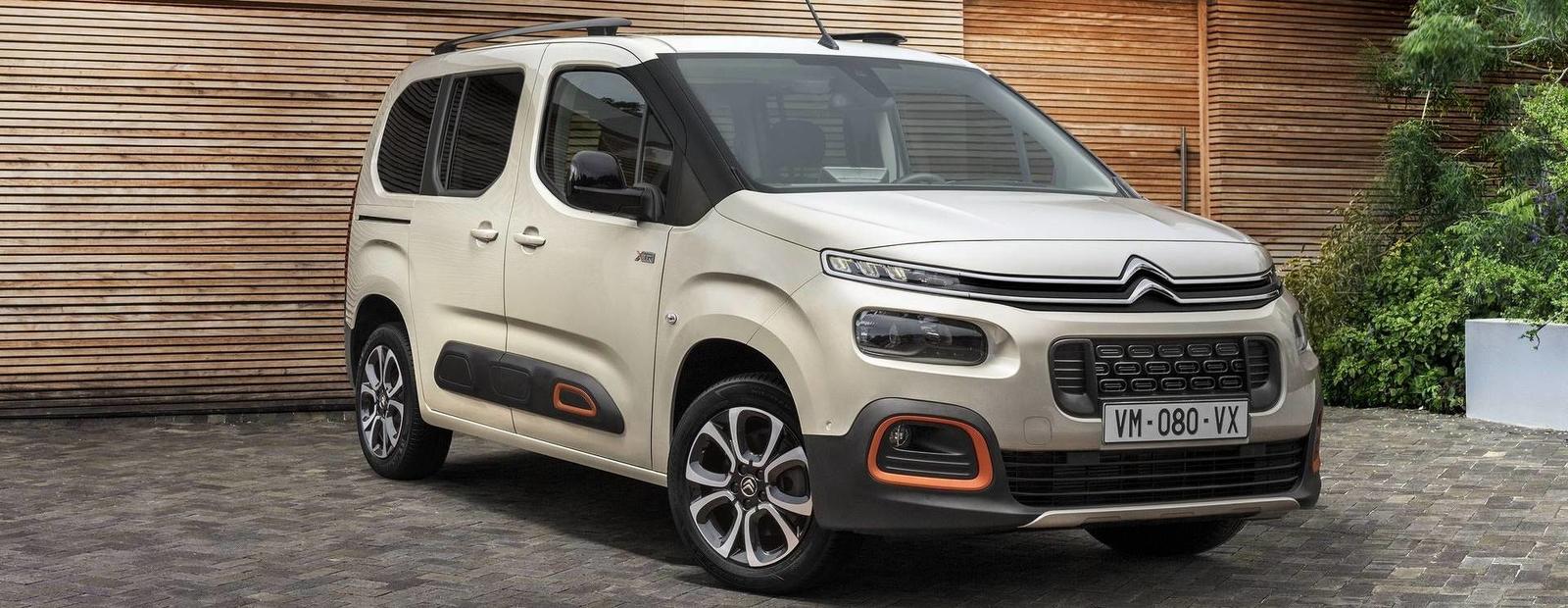 Представлен новейший коммерческий минивен Citroen Berlingo