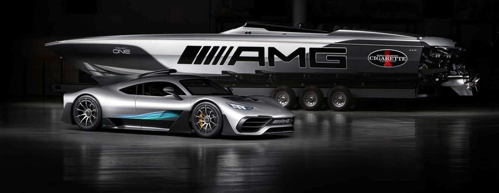 Корабелы и Mercedes-AMG построили суперлодку мощностью более 3000 «сил»