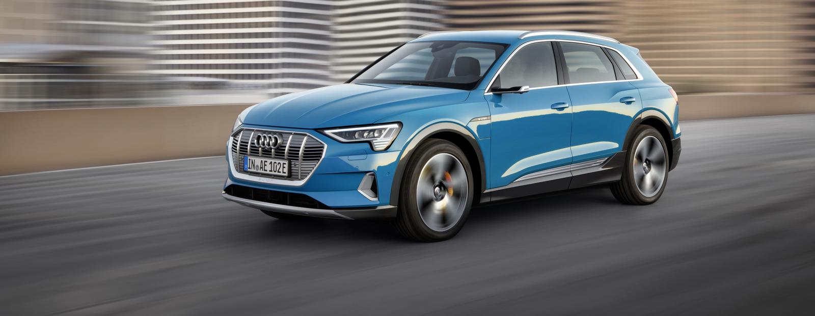 Audi показала свой первый электрокроссовер (у него камеры вместо зеркал)