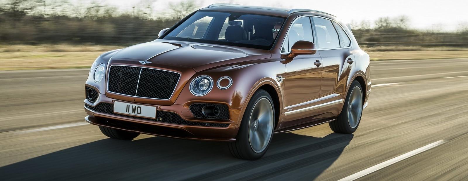 Новая Bentley Bentayga Speed стала самым быстрым в мире серийным SUV