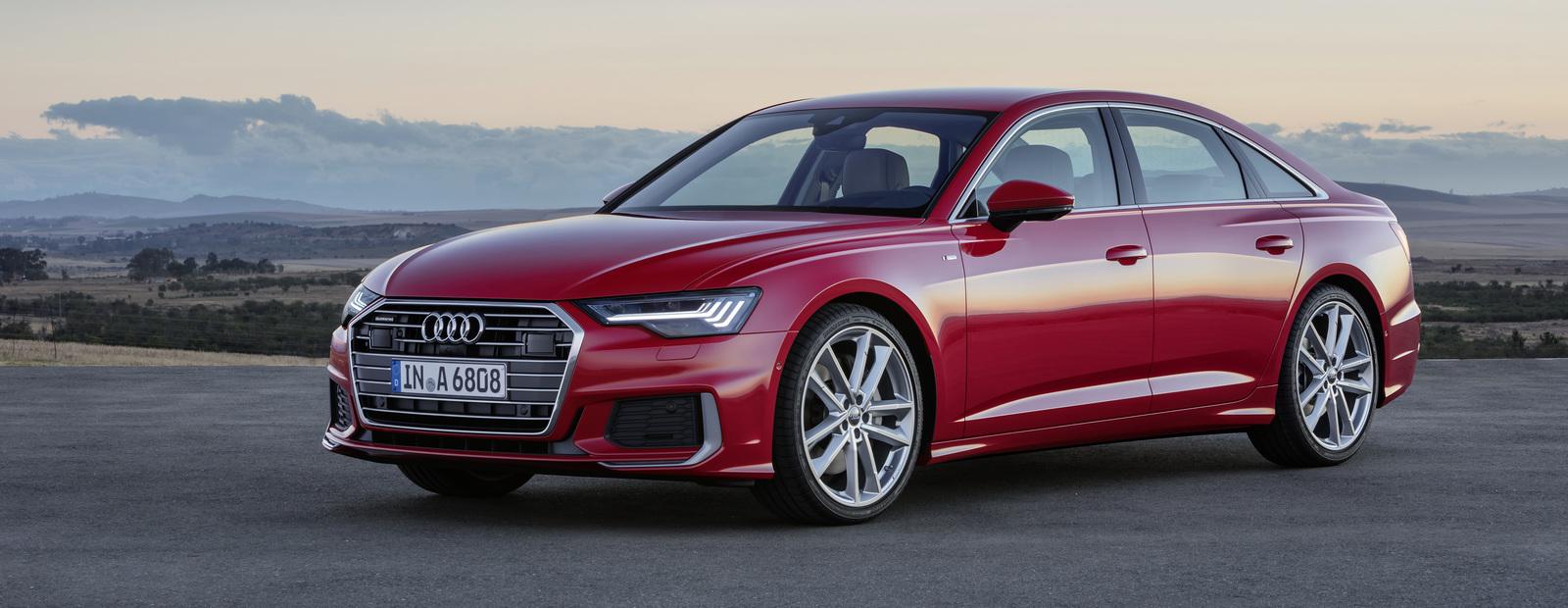 В России открыт прием заказов на базовую версию нового Audi A6