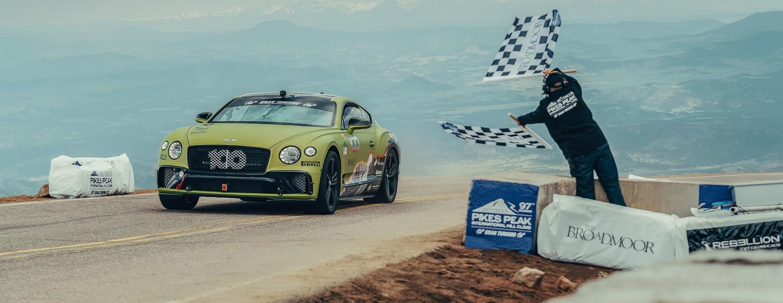 """Bentley снова """"Царь горы"""" - теперь Continental GT"""