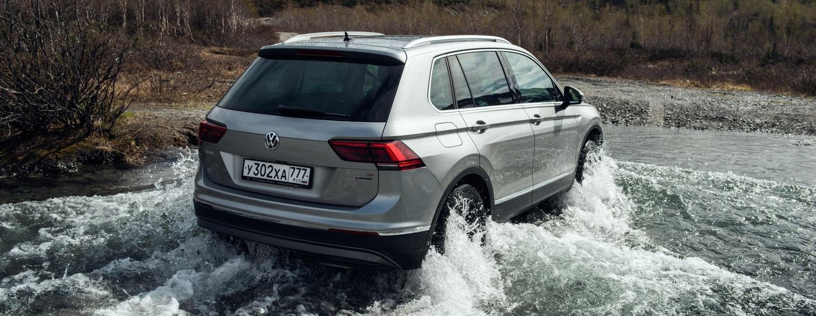 Volkswagen Tiguan в России обзавелся