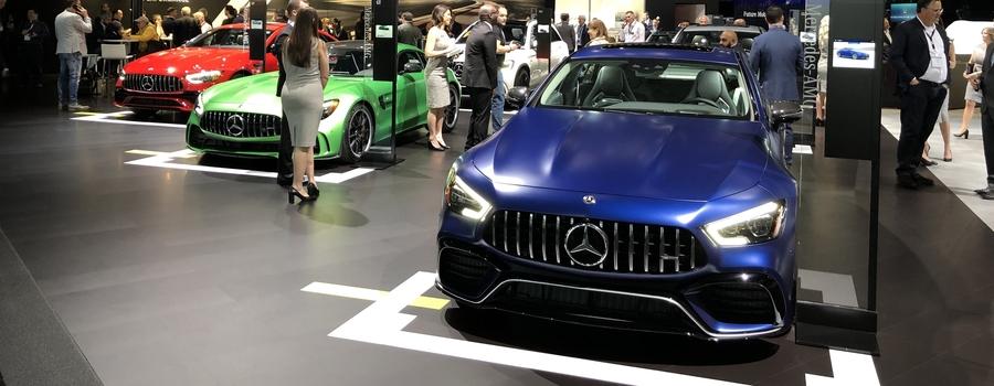 Автосалон в Нью-Йорке-2019