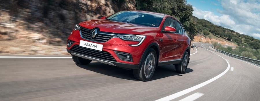 Все цены на Renault Arkana