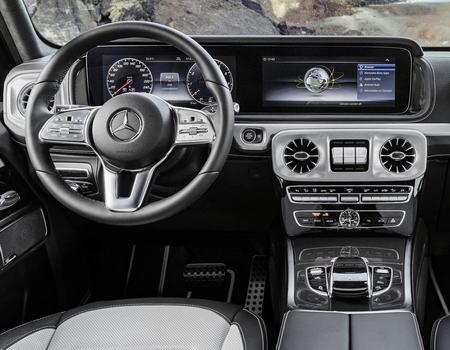 Новый Mercedes-Benz G-class