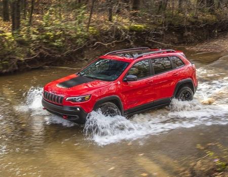 Новый Jeep Cherokee: цены в РФ