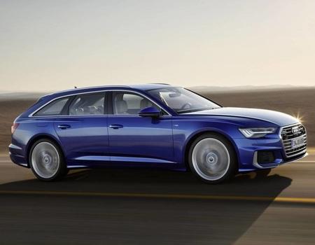 Новый Audi A6 Avant