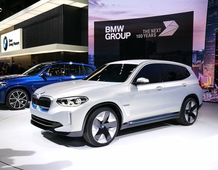 Электрический BMW X3
