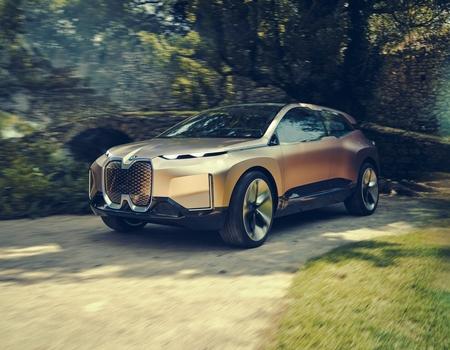 Новый беспилотник BMW iNext