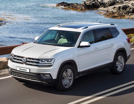 Новое оснащение VW Teramont