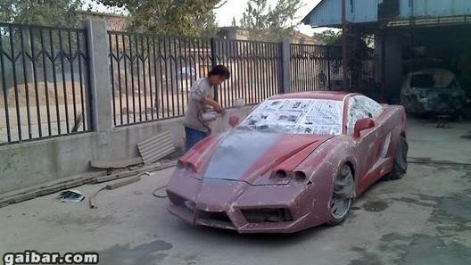Китайцы сделали копию Ferrari Enzo на базе купе Geely