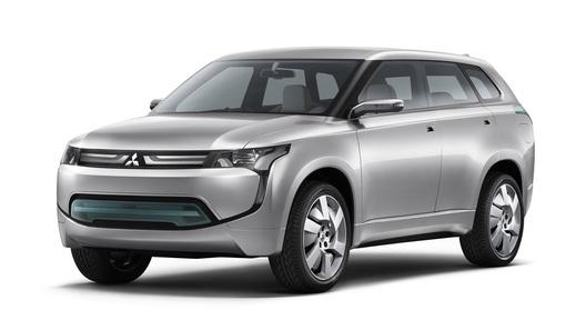 Mitsubishi переключается на гибридные кроссоверы
