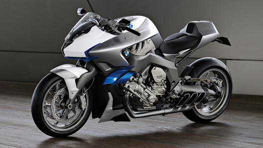 BMW Motorrad Concept 6: шестицилиндровый прототип пойдет в производство
