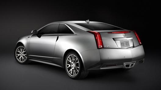 Новый Cadillac CTS Coupe: первые официальные фото