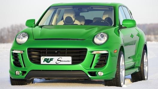 Немецкие тюнеры Ruf превратили Porsche Cayenne в электромобиль