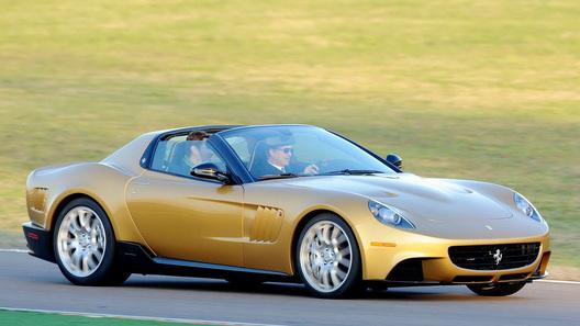 Ferrari P540 Superfast Aperta: эксклюзивный суперкар для преданного клиента