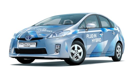 Новая Toyota Prius: японцы предлагают заряжать автомобили от розетки