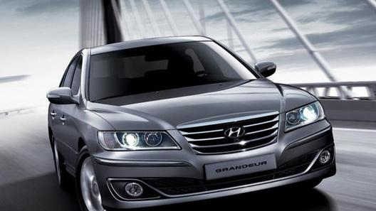 Стало известно, какие моторы получит Hyundai Grandeur