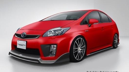 Эко-тюнинг: ателье Tommy Kaira украсило новый Toyota Prius