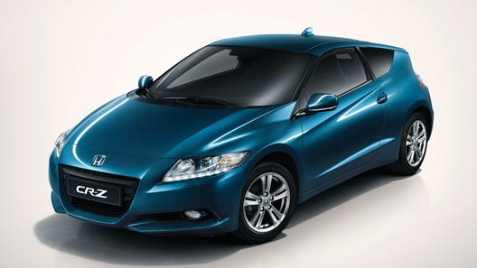 Honda CR-Z: первые фото серийной версии