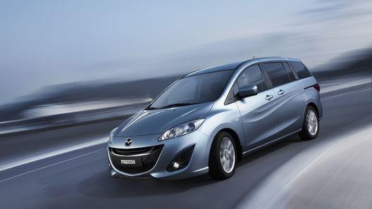 Новая Mazda5: предварительное знакомство