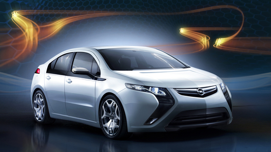 Концепт Opel Ampera