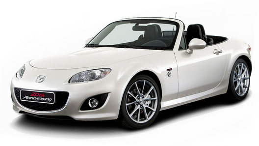 Mazda MX-5 20th Anniversary Edition: подарок к юбилею