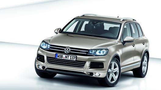 Новый Volkswagen Touareg получил гибридный двигатель