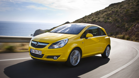 Opel готовит к запуску обновленную Corsa