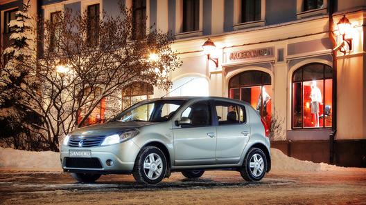 Renault Sandero – бюджетная сенсация класса В