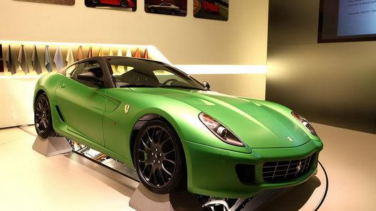 Ferrari 599 Hybrid: лабораторная презентация