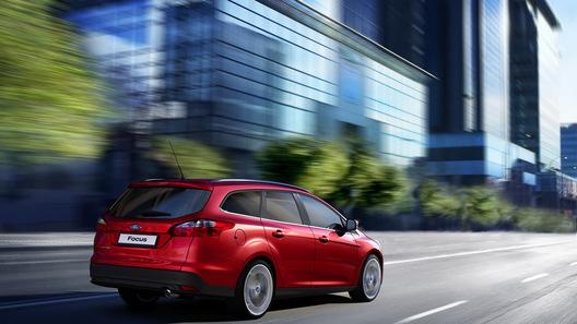 Новый универсал Ford Focus: официальные фото