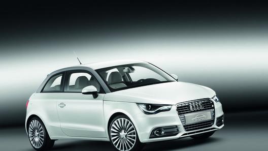 В Женеве представлен компактный гибрид Audi A1 e-tron