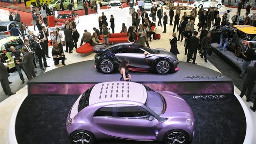 Автосалон в Женеве: кризис на автомобильном рынке преодолен