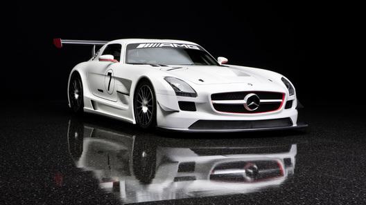 Mercedes-Benz и AMG показали клиентский гоночный болид SLS GT3
