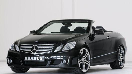 Комплект модификаций для нового кабриолета Mercedes-Benz E-Class от BRABUS