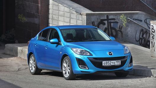 Длительный тест Mazda3 - ремейк российского бестселлера у нас в редакции