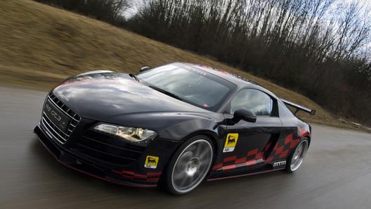 Из Audi R8 сделали заднеприводный болид