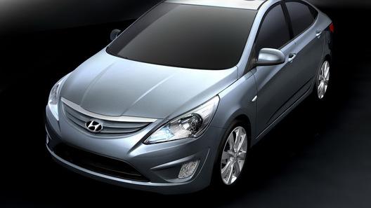Корейцы показали новое поколение своего бестселлера Hyundai Accent