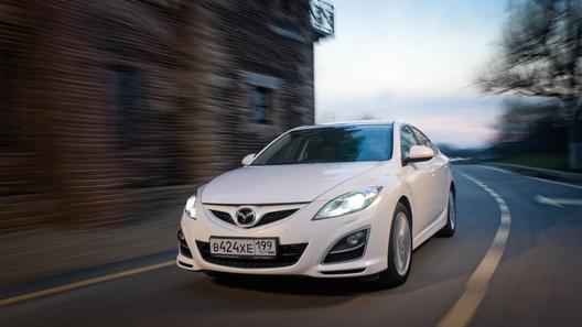 Тест-драйв обновленной Mazda6 - к взлету готов