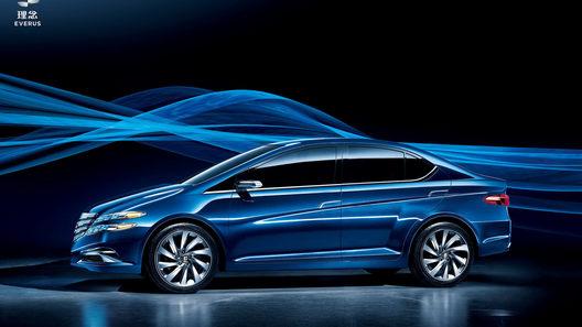Honda представила на автосалоне в Пекине концепт-кар Li Nian Everus