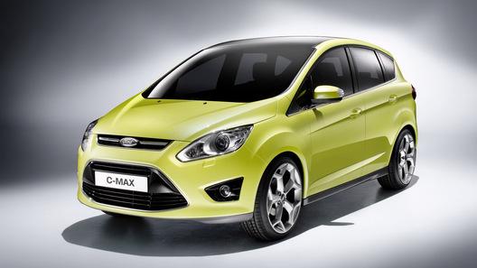 В 2013 году Ford представит в Европе две гибридных версии минивэна C-MAX